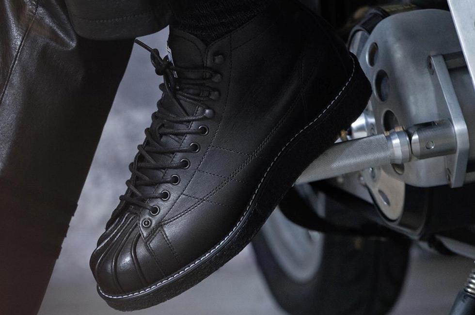 reputable site faa34 1d70b adidas Originals x NEIGHBORHOOD NH Shelltoe Boots - IMBOLDN