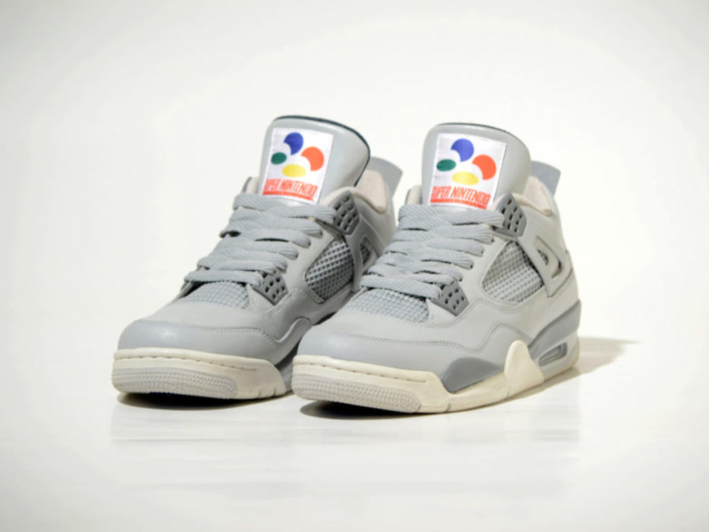 Air Jordan IV Super Nintendo