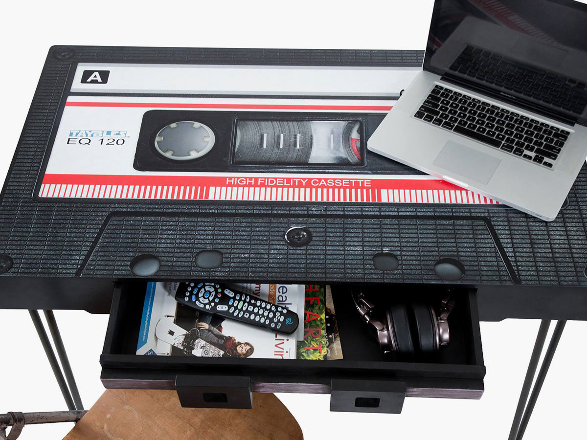 Taybles Cassette Tape Coffee Table Imboldn