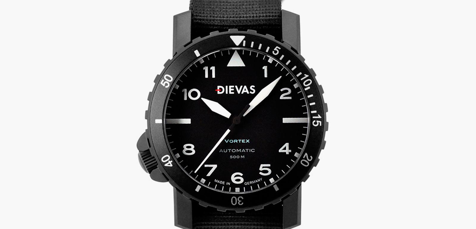 Dievas vortex tactical watch imboldn for Vortix watches