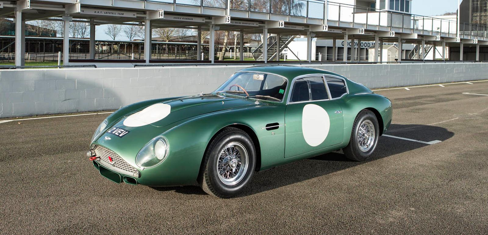 1961 Aston Martin Db4gt Zagato 2 Vev Imboldn