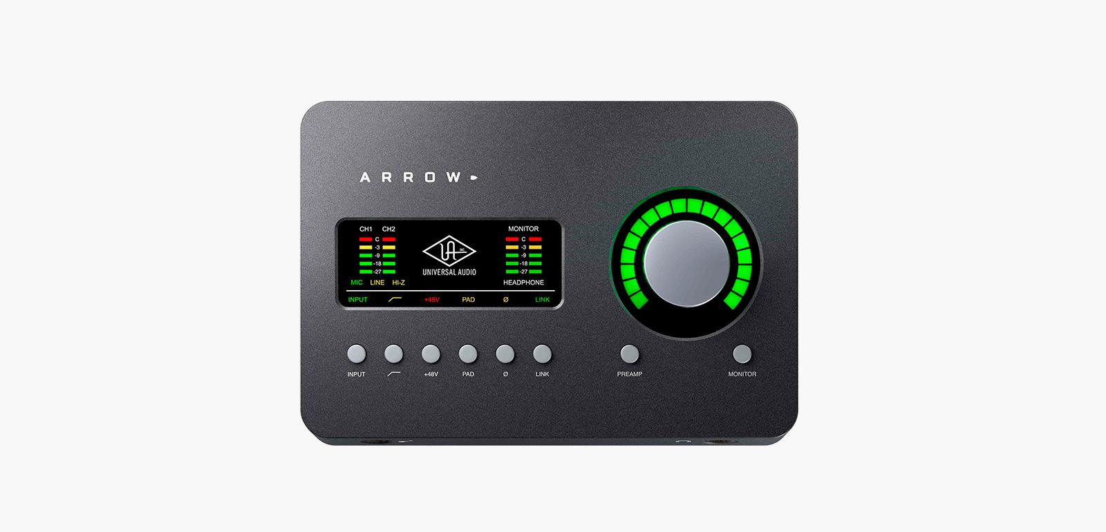 universal audio arrow audio interface imboldn. Black Bedroom Furniture Sets. Home Design Ideas