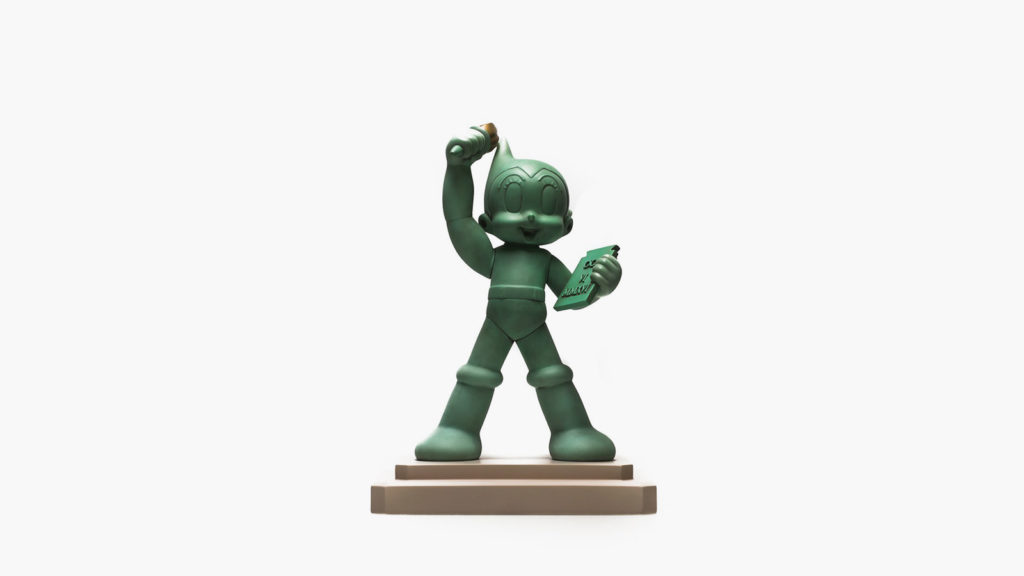 Toy Cube Astro Boy x Statue Of Liberty