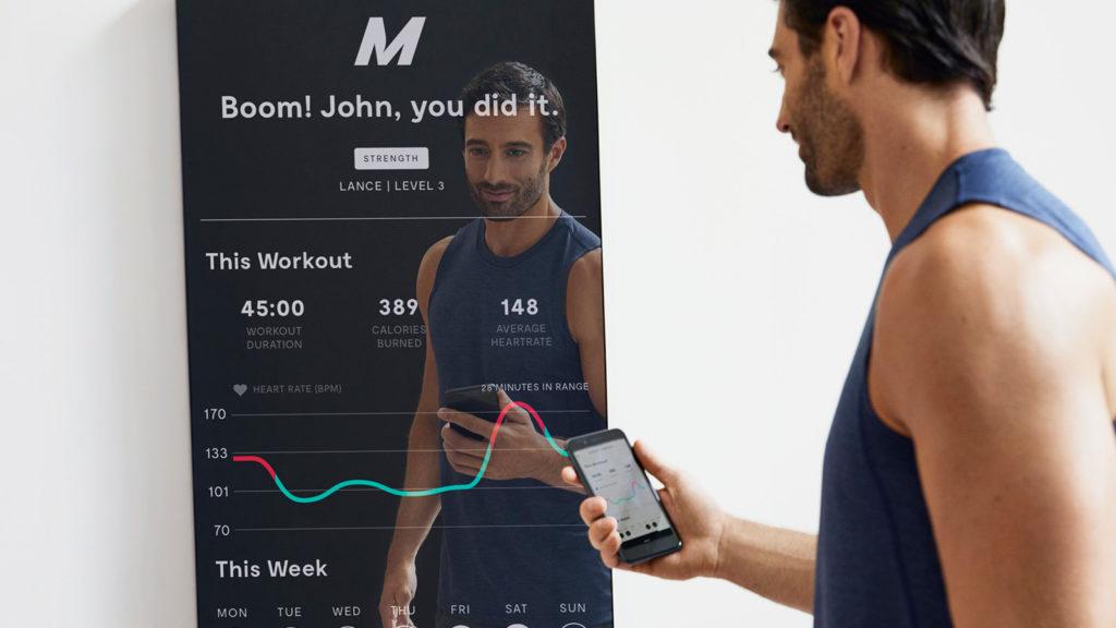 Mirror Home Gym