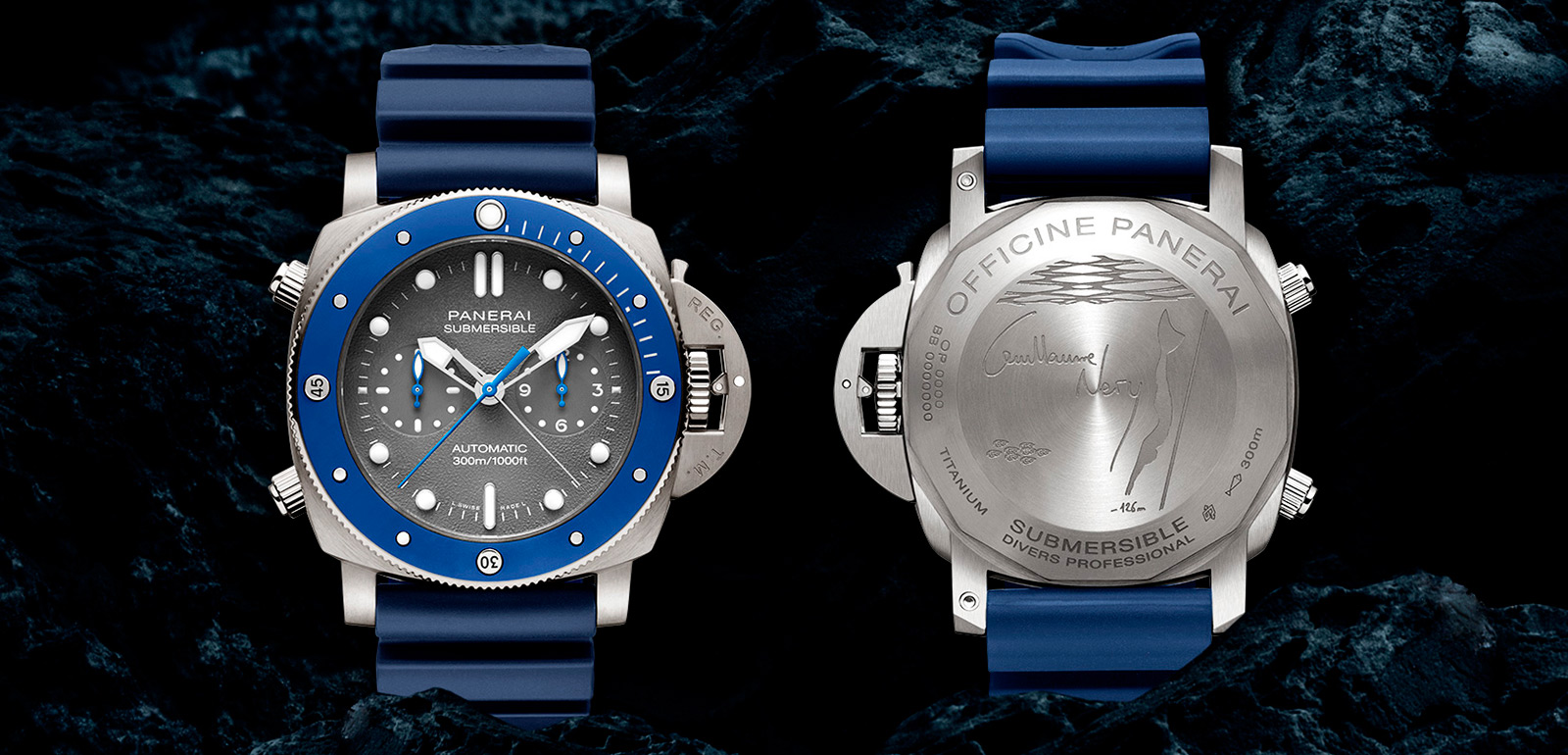 Panerai Submersible Chrono Guillaume Néry