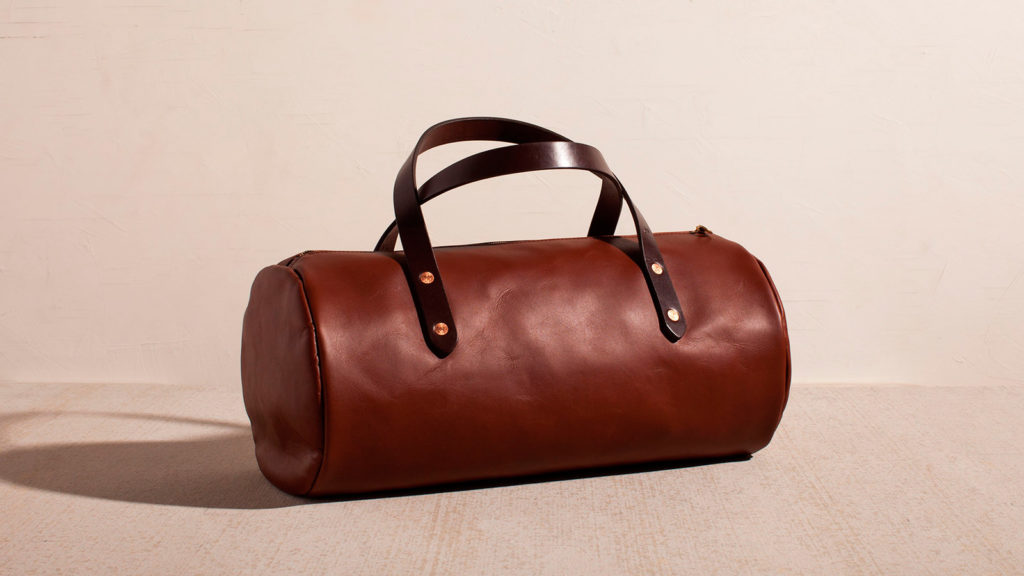 Joshu+Vela Leather Duffle