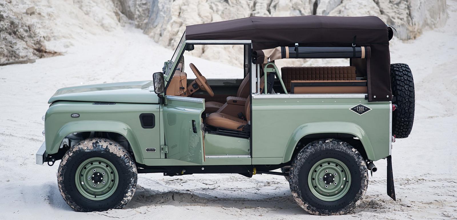 Cool & Vintage Land Rover Defender N62
