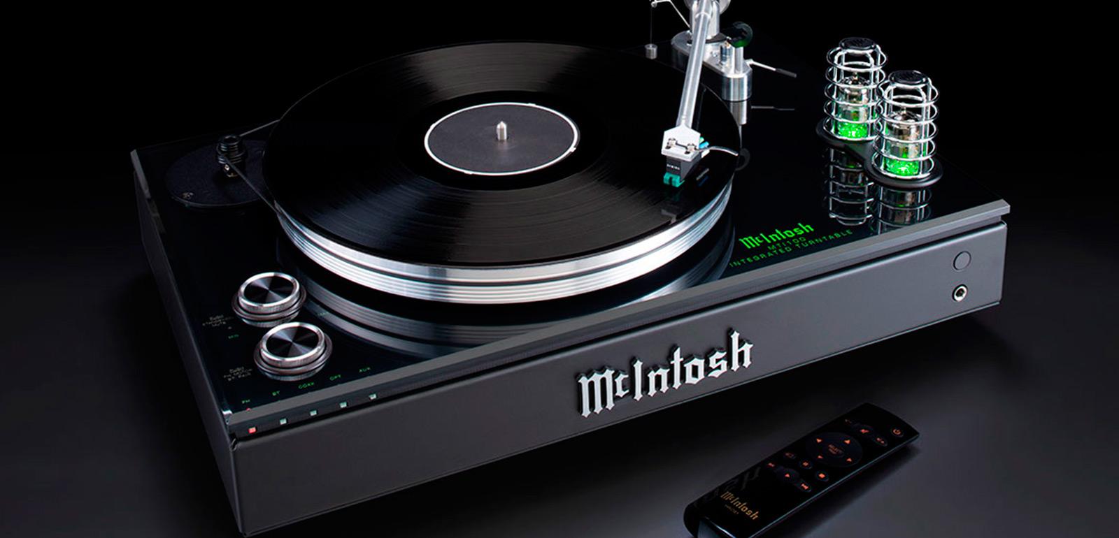 McIntosh MTI100 Integrated Turntable