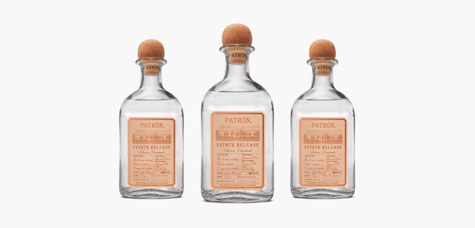 Patrón Estate Release Limited Edition Tequila