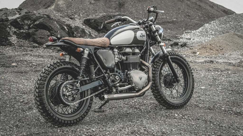 Zeus Custom The Wild 90s Triumph Thruxton 900