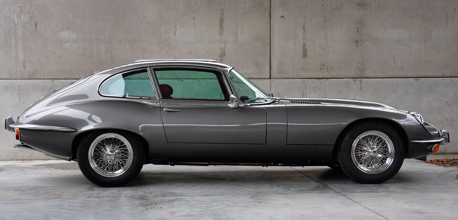 E-Type UK 1973 Jaguar E-Type Series 3 Restomod