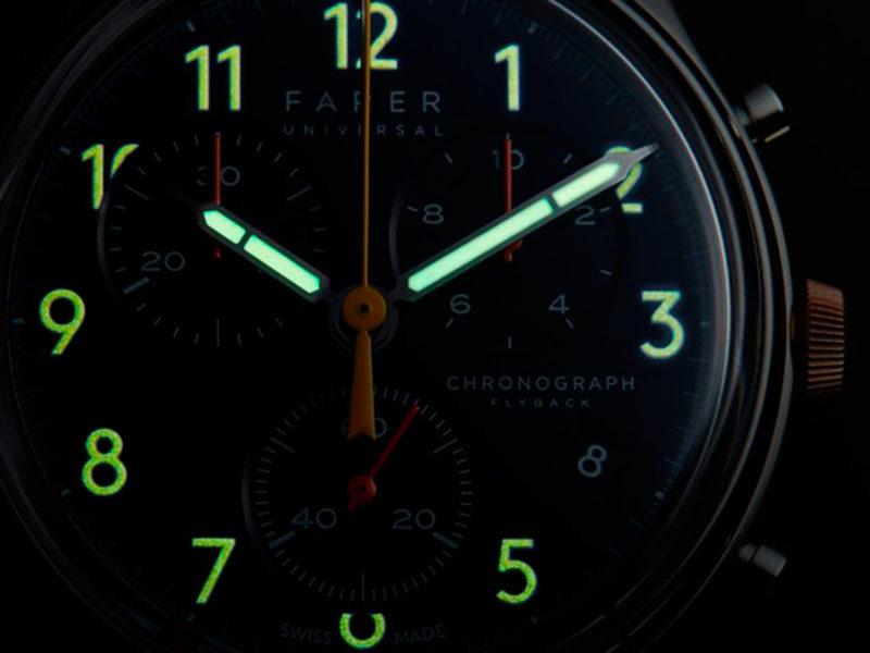 Farer Split-Second Flyback Chronograph