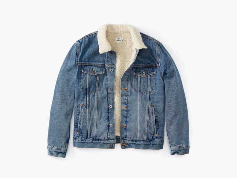 Flint and Tinder Type 3 Sherpa-Lined Trucker Jacket