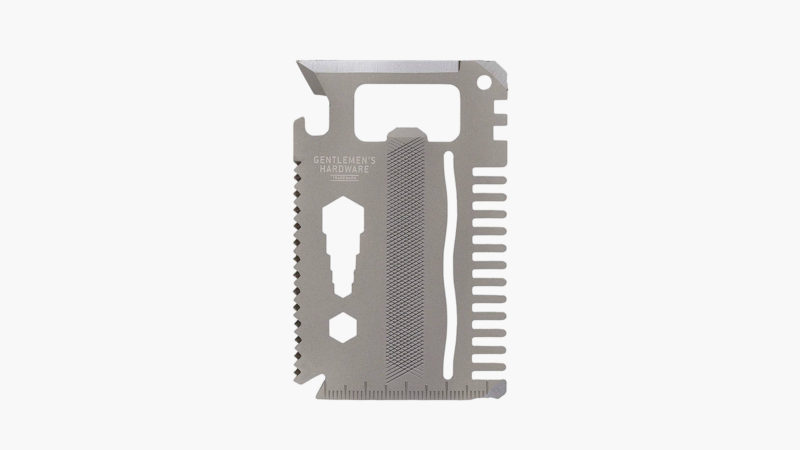 Gentlemen's Hardware Credit Card Multi Tool