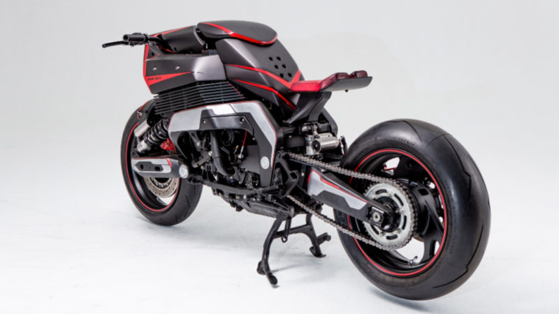 JSK Moto Co. Project Rhodium Omega Yamaha GTS 1000