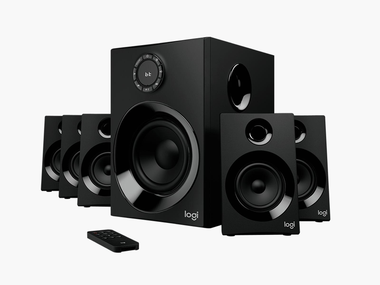 logitech z606 5 1 surround sound speaker system imboldn. Black Bedroom Furniture Sets. Home Design Ideas