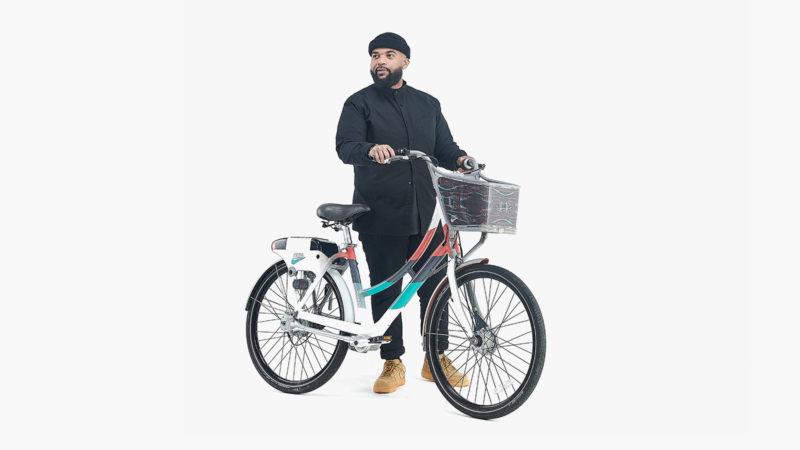Nike BIKETOWN Black History Month Bike Wrap