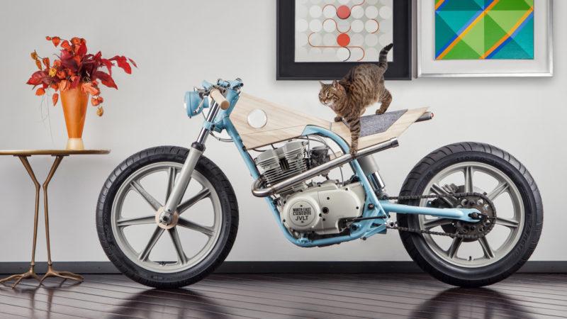 North East Custom JVLT 014 Motorbike