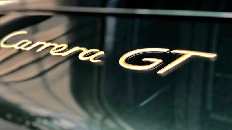 Recommissioned Porsche Carrera GT