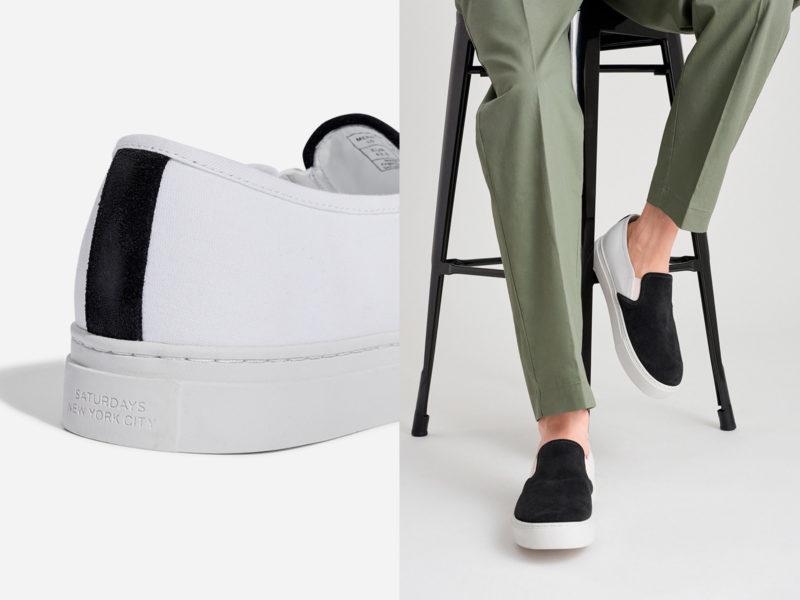 Saturdays NYC Vass Suede Combo Sneaker