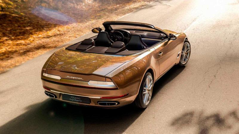 Carrozzeria Touring Superleggera Sciàdipersia Cabriolet