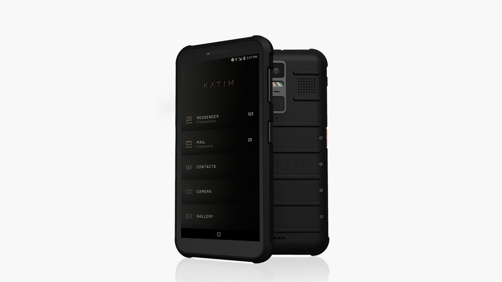 DarkMatter KATIM R01 Ultra Secure Smartphone