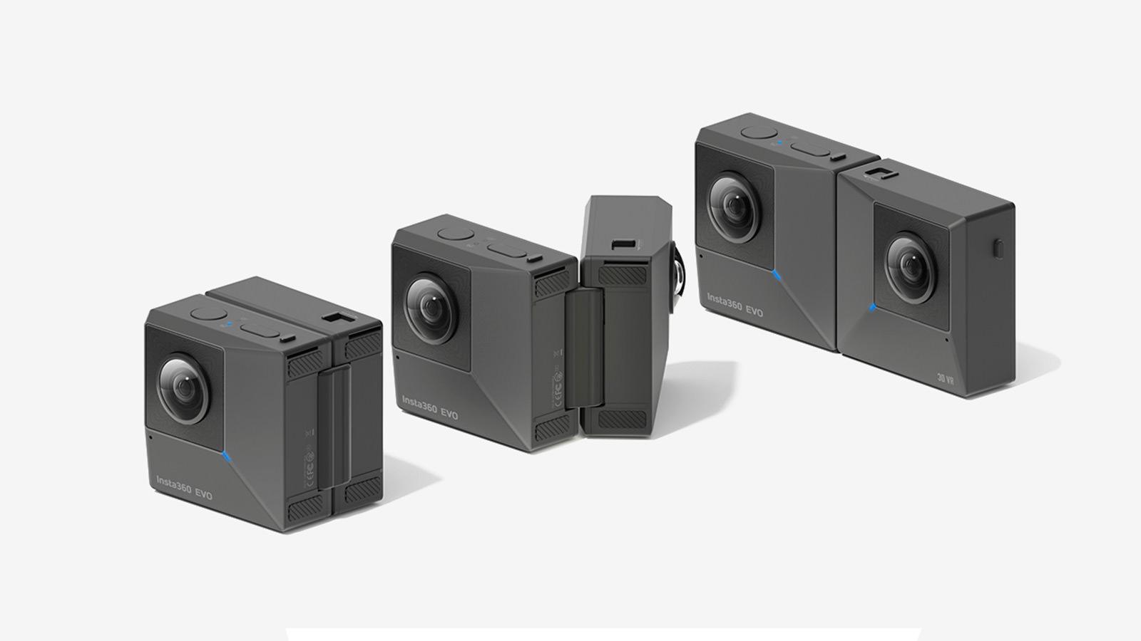Insta360 EVO Foldable VR Camera