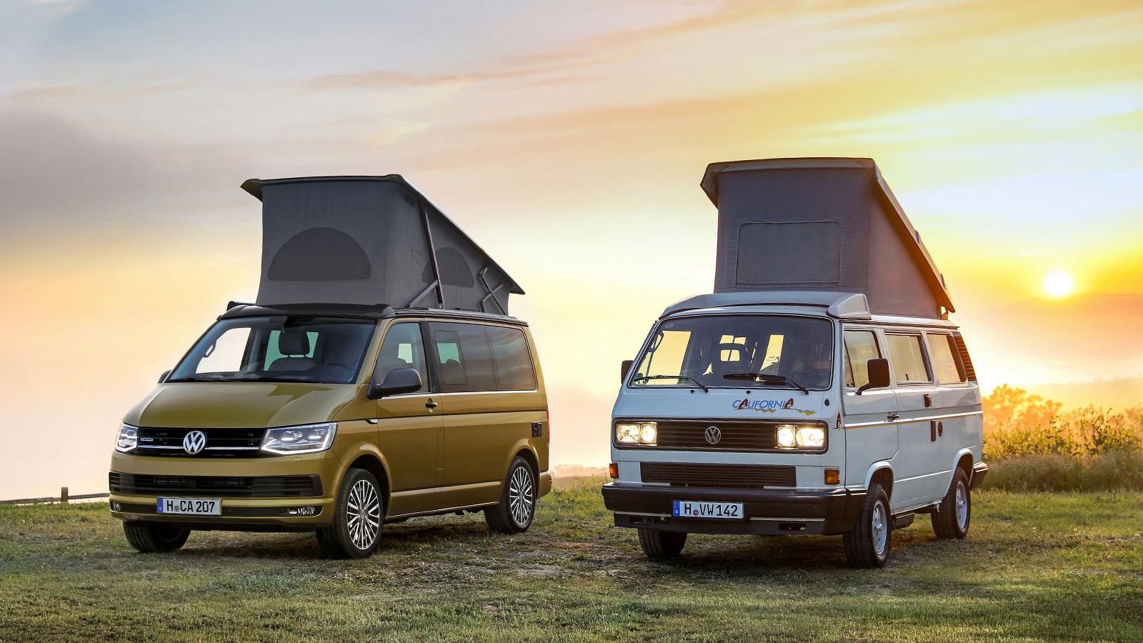 VW California Camper Van 30 Years Edition
