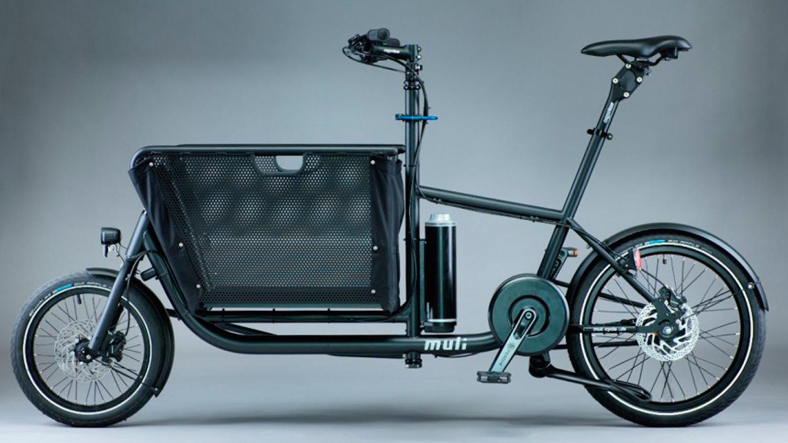 e muli foldable cargo bike imboldn. Black Bedroom Furniture Sets. Home Design Ideas