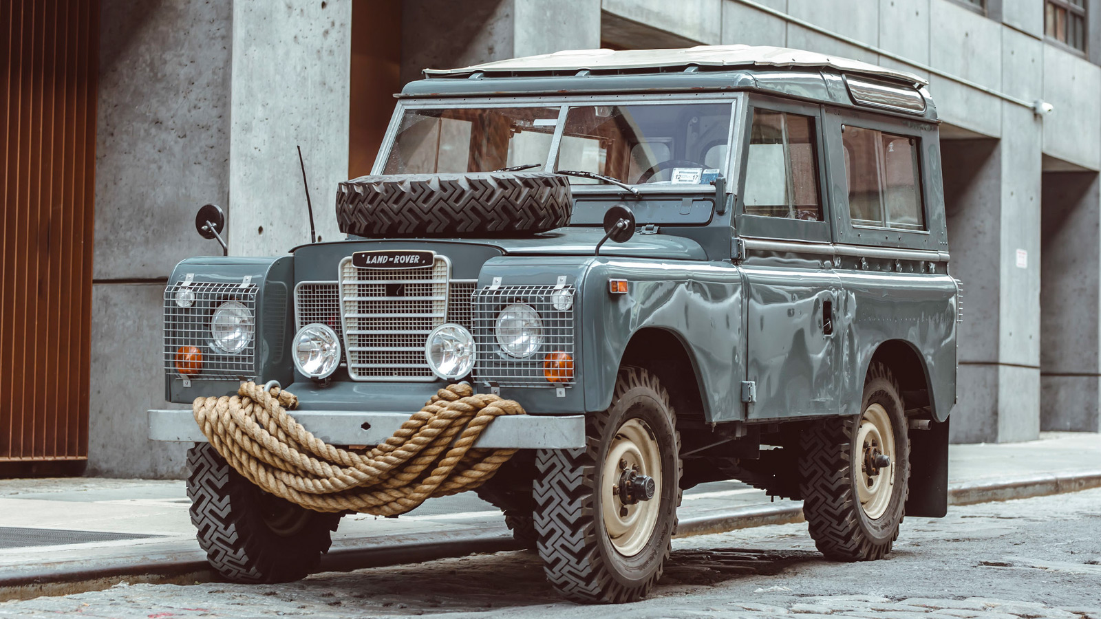 Brooklyn Coachworks 1972 Land Rover Series III