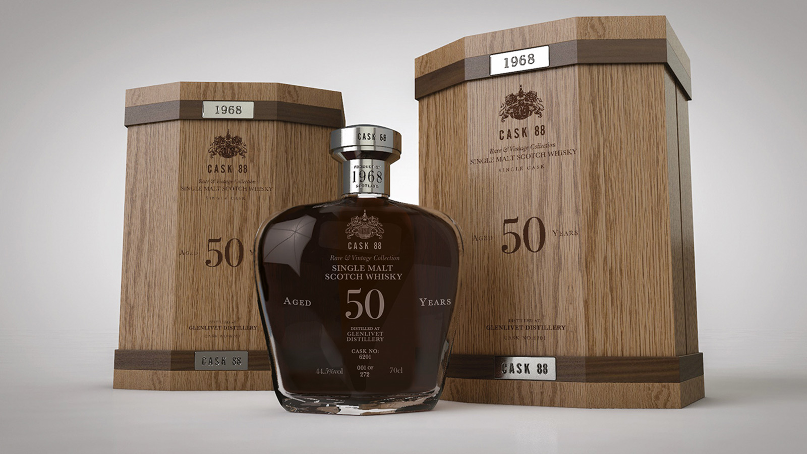 Glenlivet 50-year-old Scotch by Cask 88