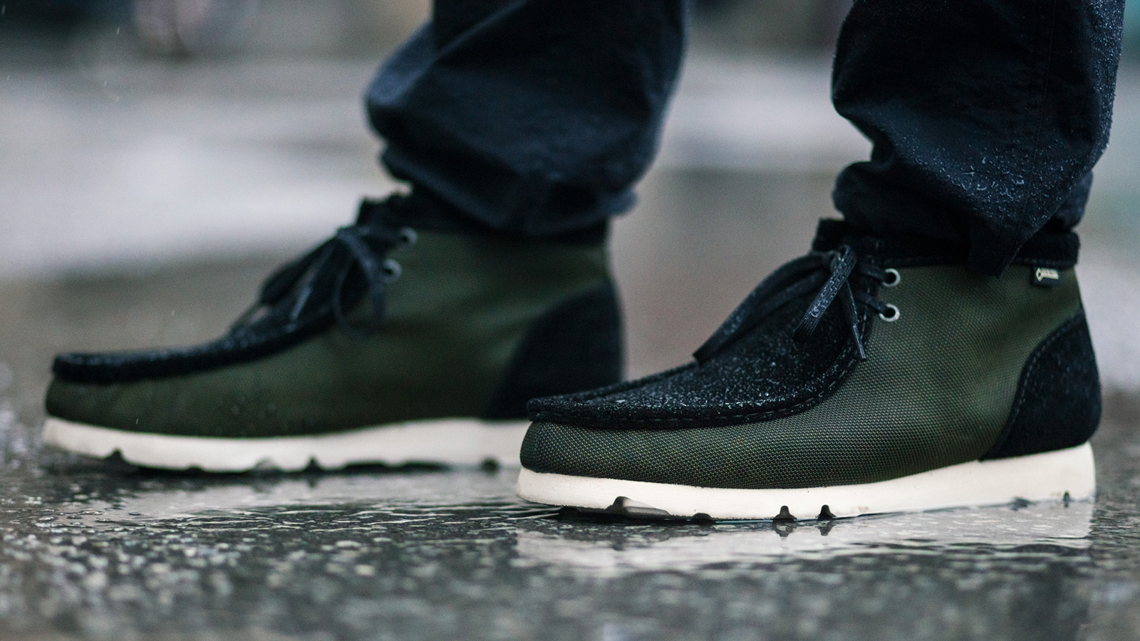 HAVEN x Clarks Originals Gore-Tex Ballistic Wallabee Boots