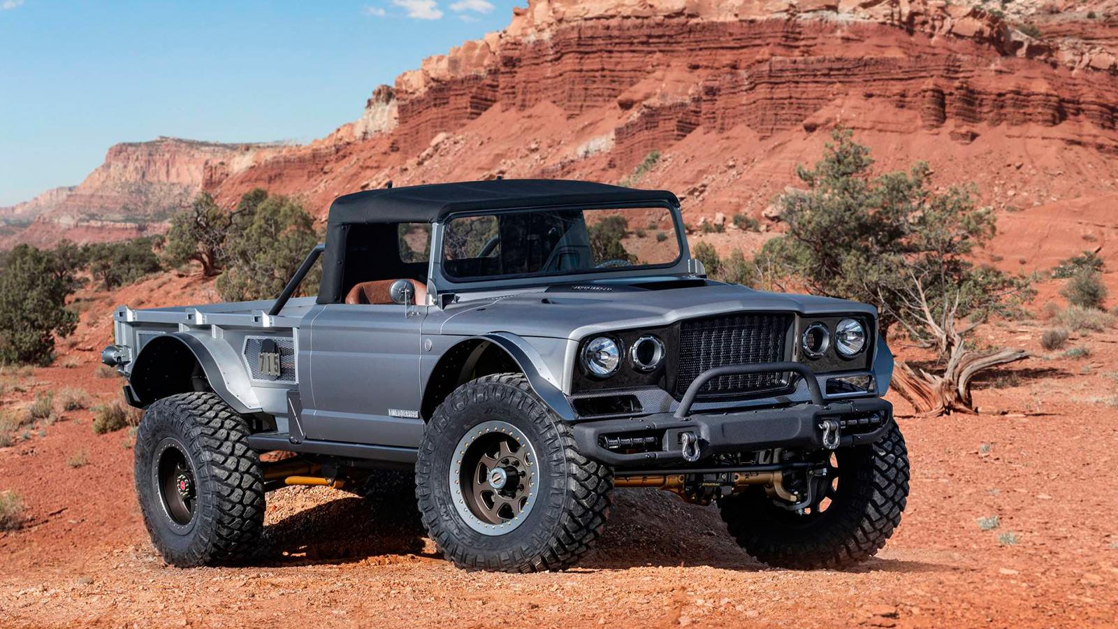 Jeep M-715 Five-Quarter