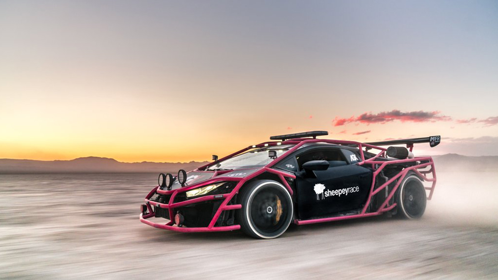 Lamborghini Huracan Unicorn V3 Rally Car