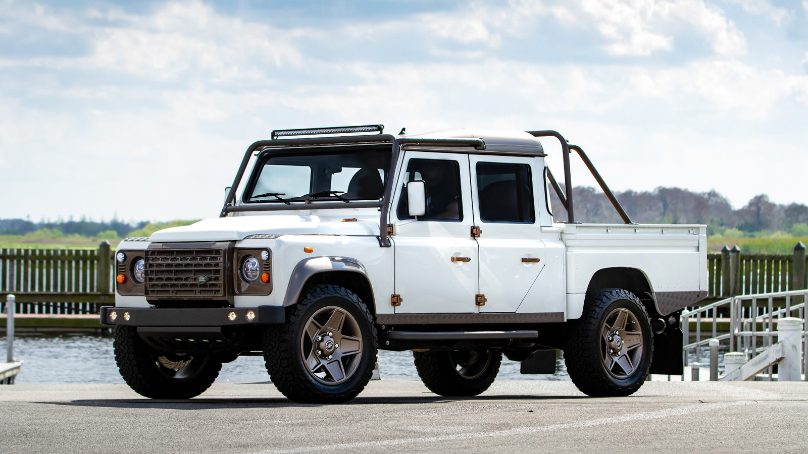 Land Rover Defender 130 'Project Barge' by ECD