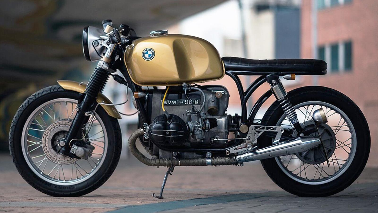 Pasquale BMW R90/6 Golden Beauty