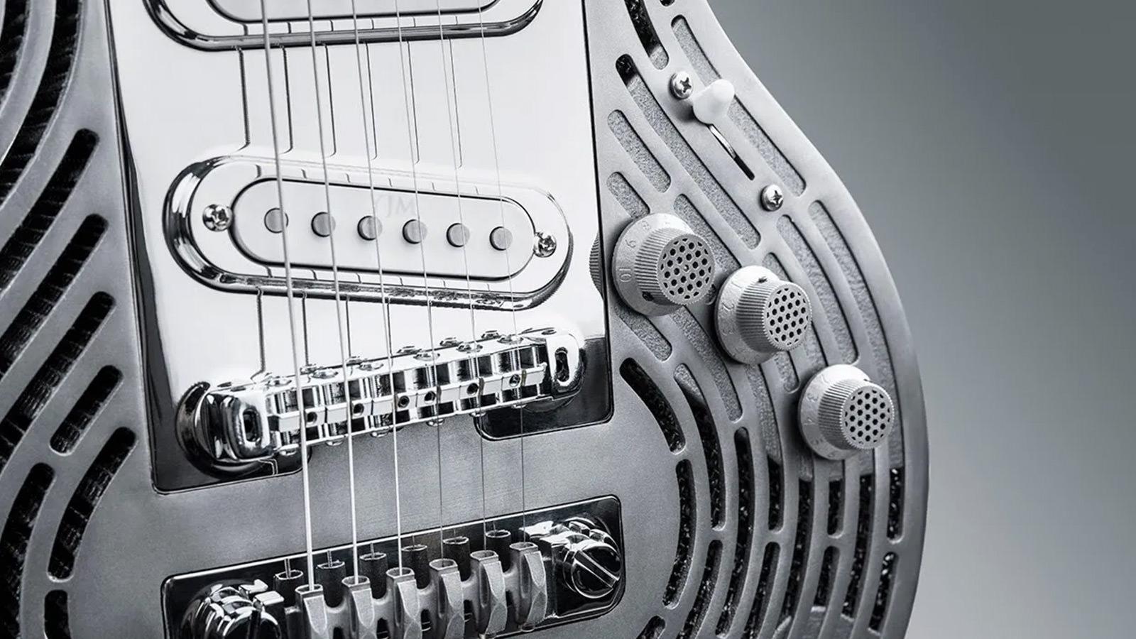 Sandvik 3D Printed Smash-Proof Guitar