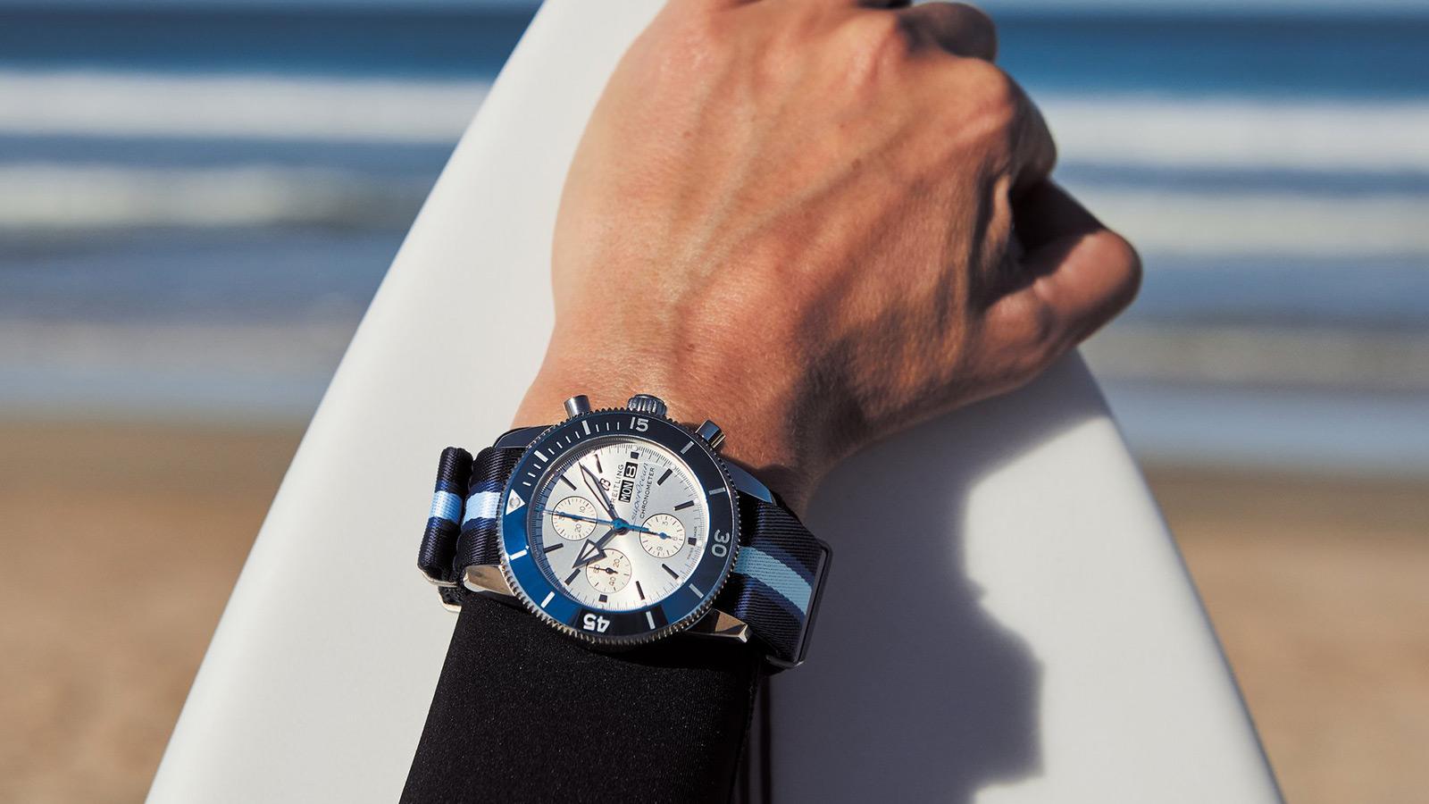 Breitling Superocean Heritage Ocean Conservancy