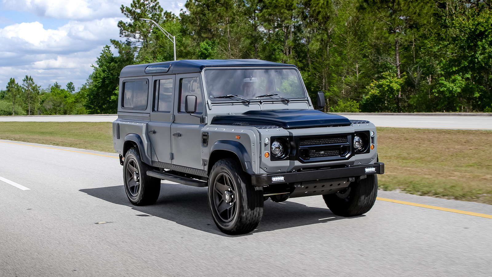 ECD Project Soho Land Rover Defender
