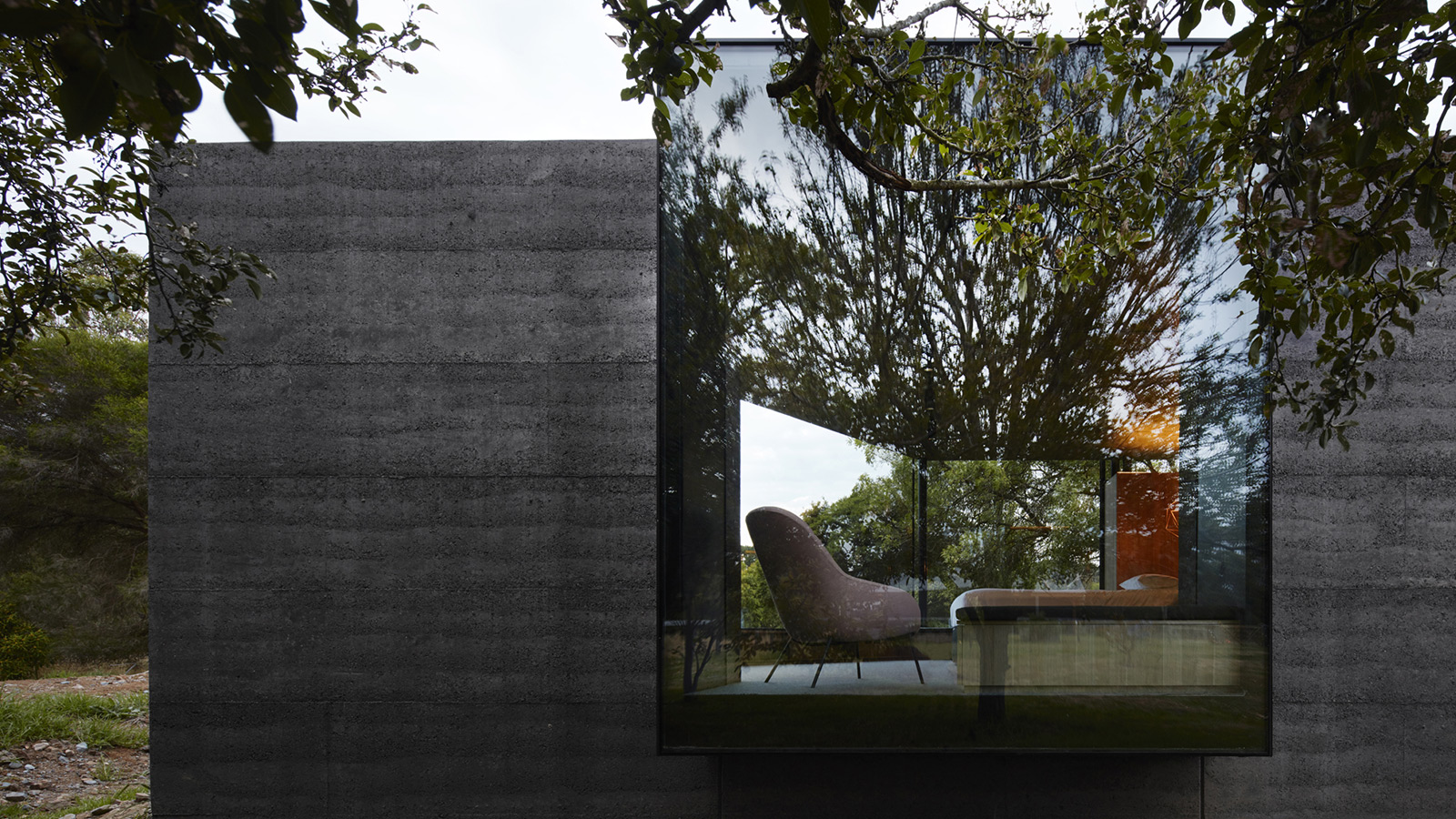 Pavilion Between Trees by Branch Studio Architects