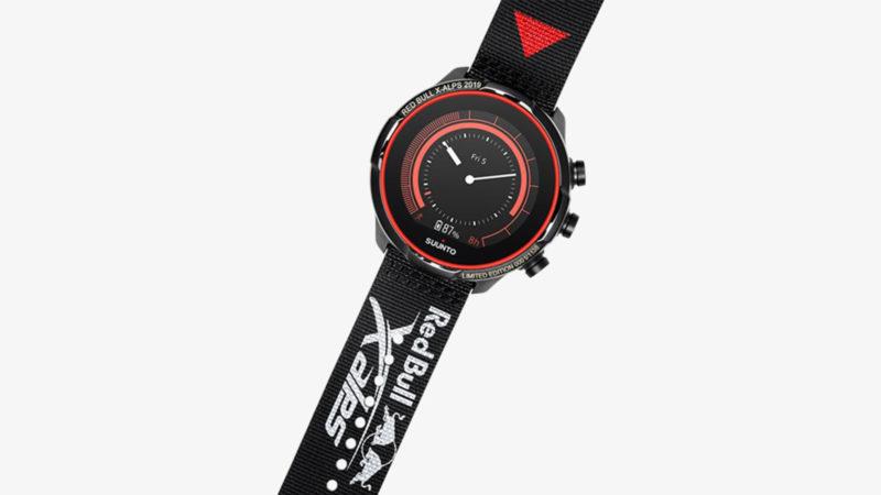 SUUNTO 9 BARO Titanium Red Bull X-Alps Watch