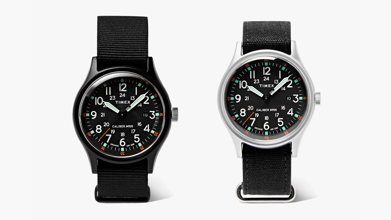 Timex x Mr Porter Camper MK1