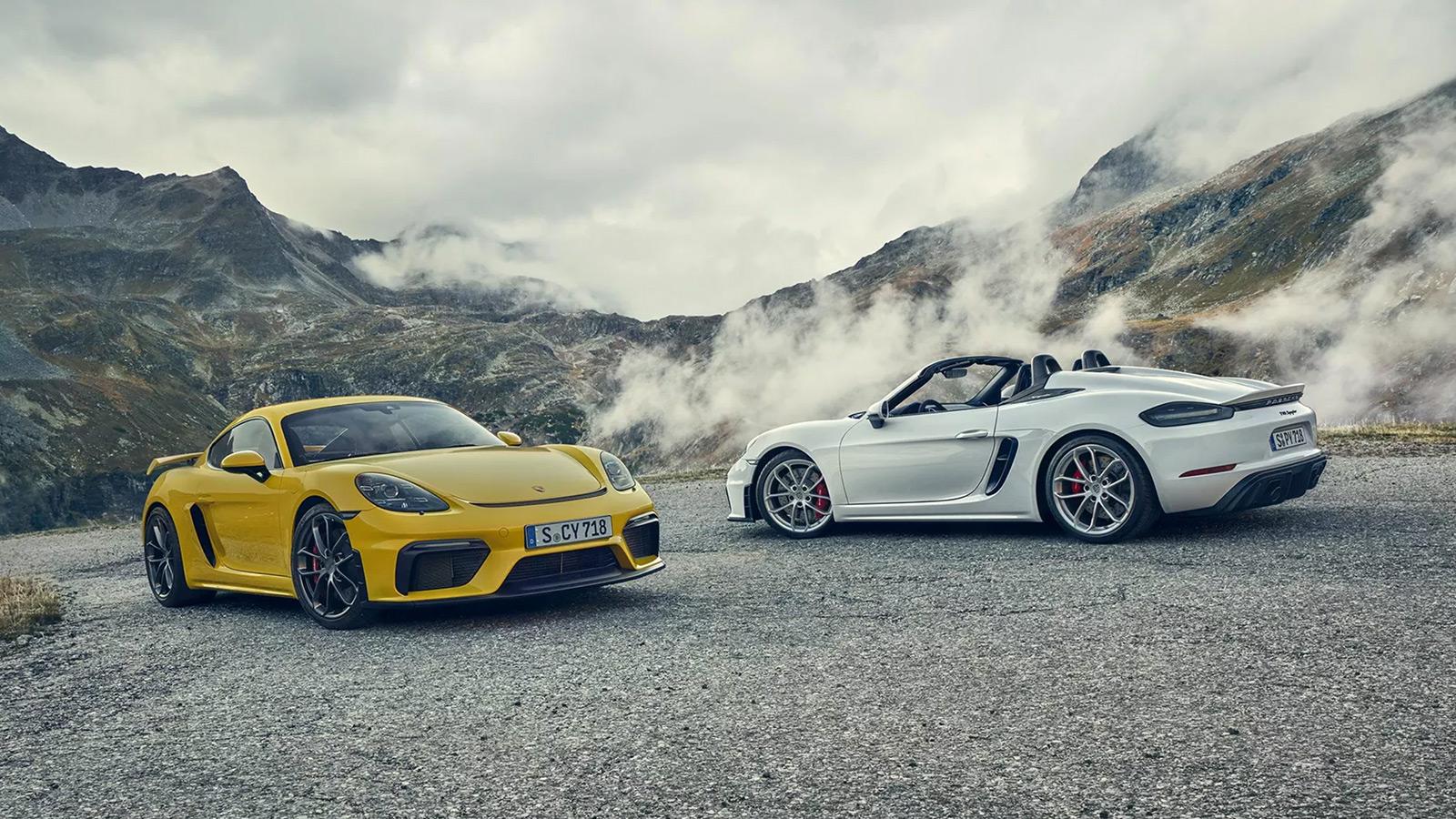 2020 Porsche 718 Spyder & 718 Cayman GT4