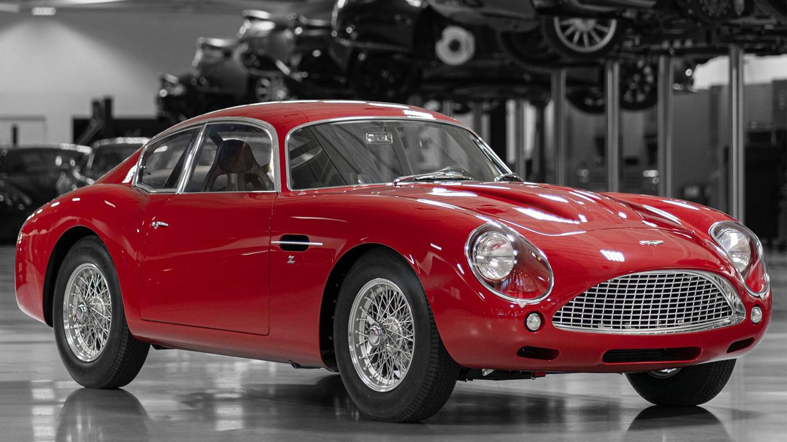 Aston Martin Db4 Gt Zagato Continuation Imboldn