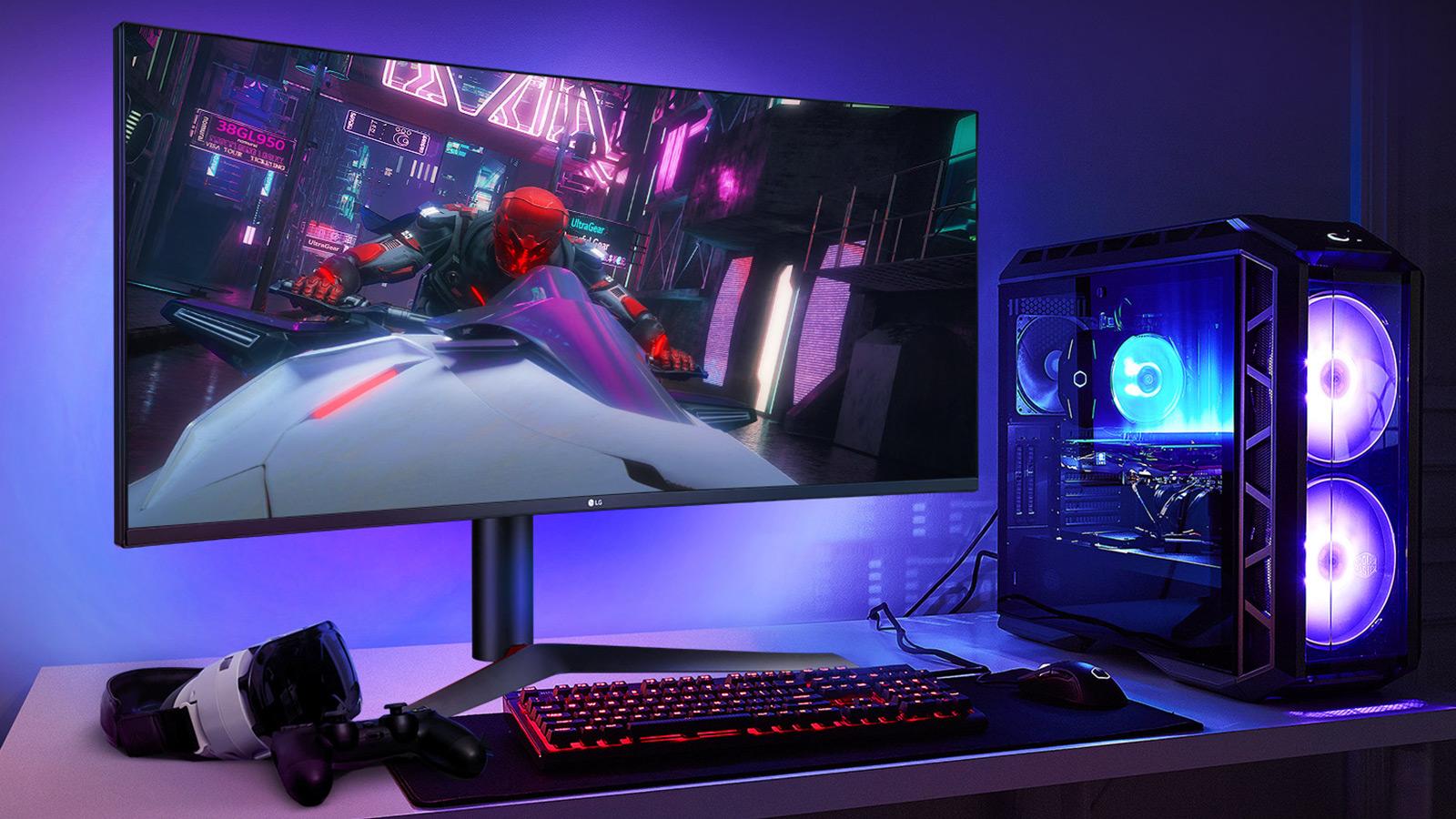 LG UltraGear Nano IPS Gaming Monitor