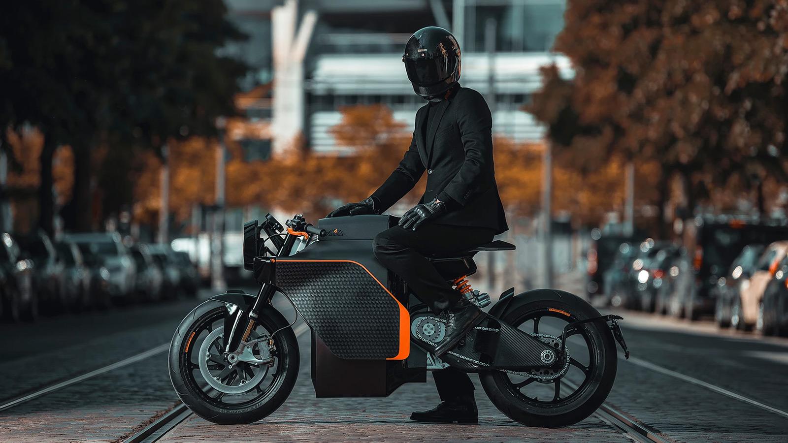 Saroléa x Mighty Machines N60 MM.01 Electric Motorcycle