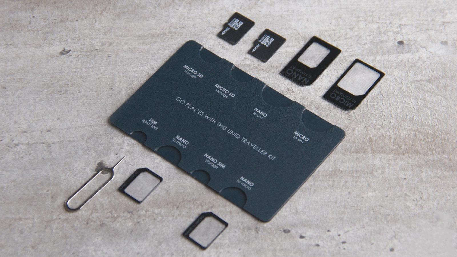 Uniq Creatio Sim Adaptor Traveller Kit