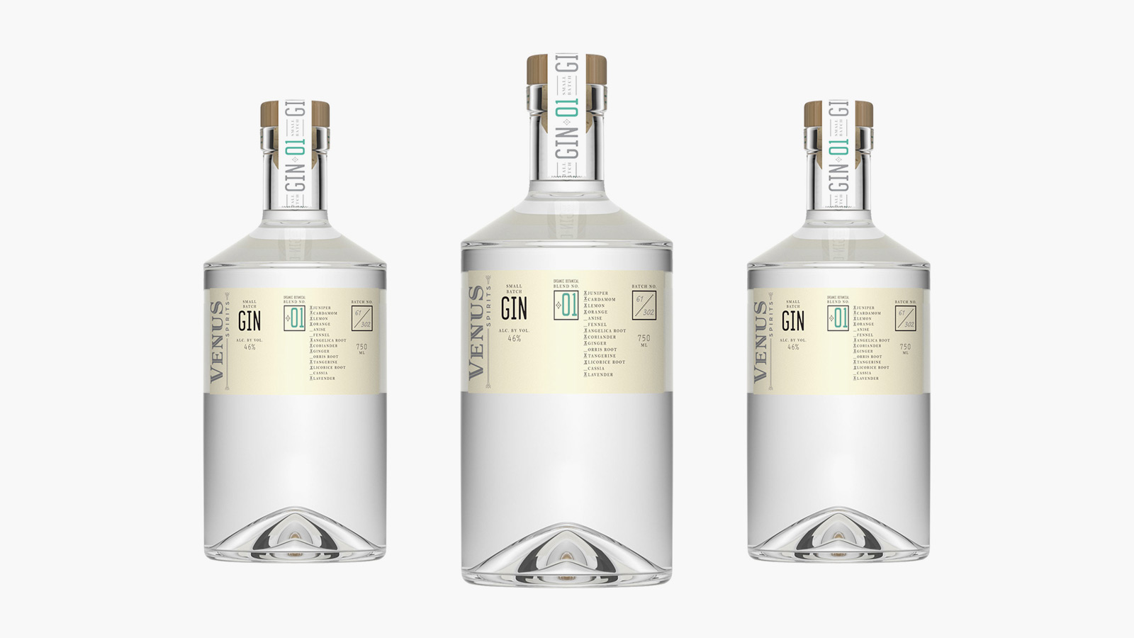 Venus Spirits Gin Blend No. 01
