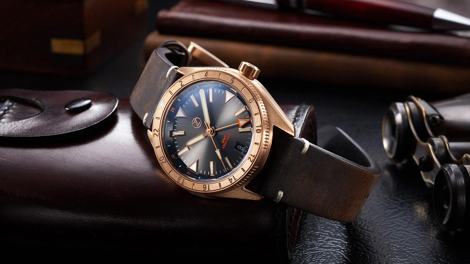 Zelos Horizons GMT Watch