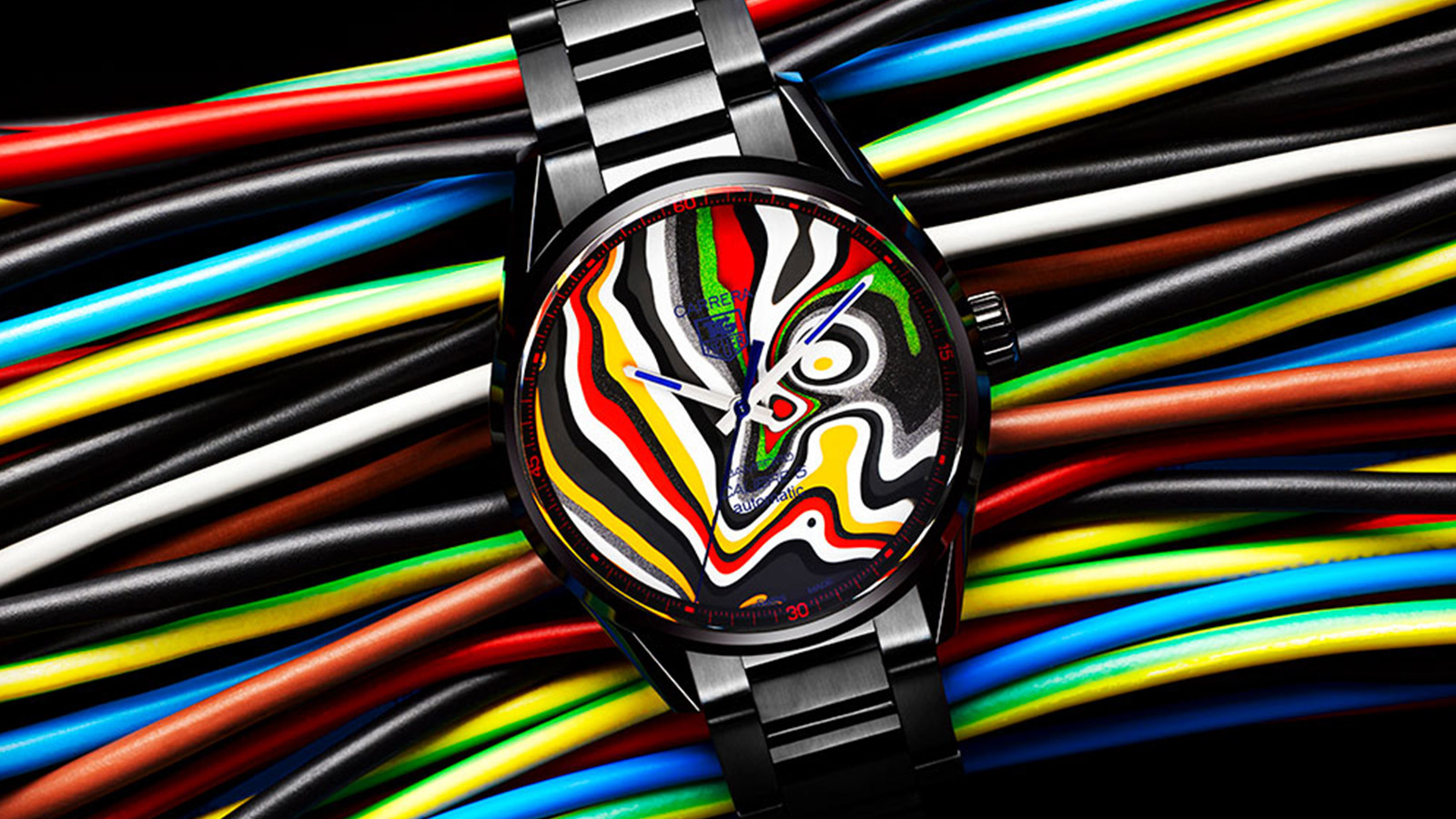 Bamford Watch Department x Black Badget ForditeTAG Heuer Carrera1/1 Limited Edition